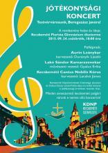 Jótékonysági koncert Beregszász javára (2015.09.24.)